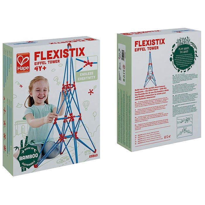 Hape | Flexistix Eiffel Tower 62 pieces