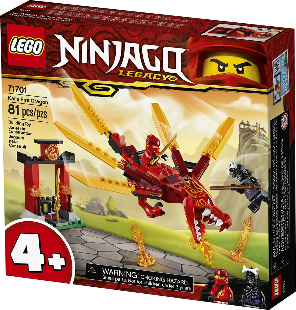 Lego | Ninjago | 71701 | Kai's Fire Dragon
