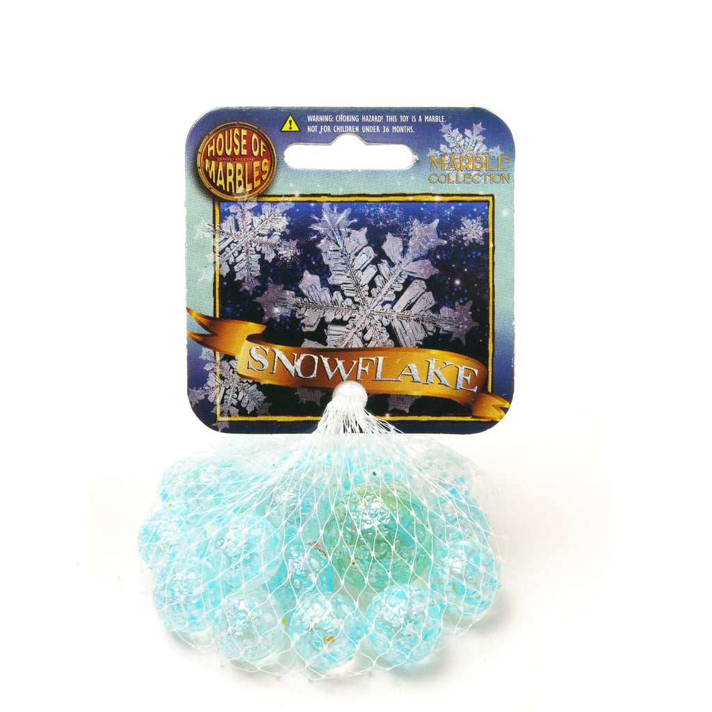 House Of Marbles | Snow Flake | Net bag