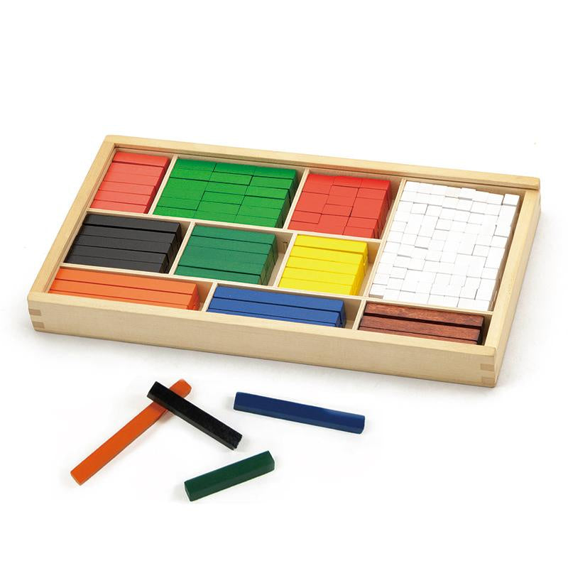 Fun Factory | Cuisenaire Rods Math Blocks Set
