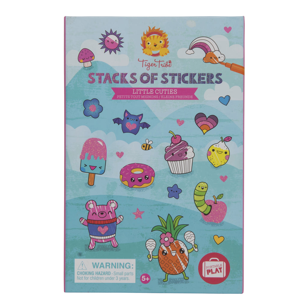 Tiger Tribe | Stacks of Stickers | Little Cuties