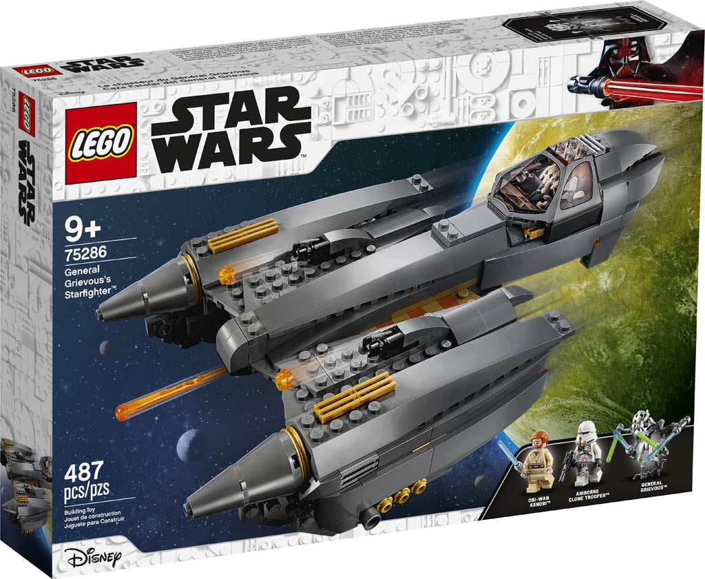 Lego | Star Wars | 75286 General Grievous's Starfighter