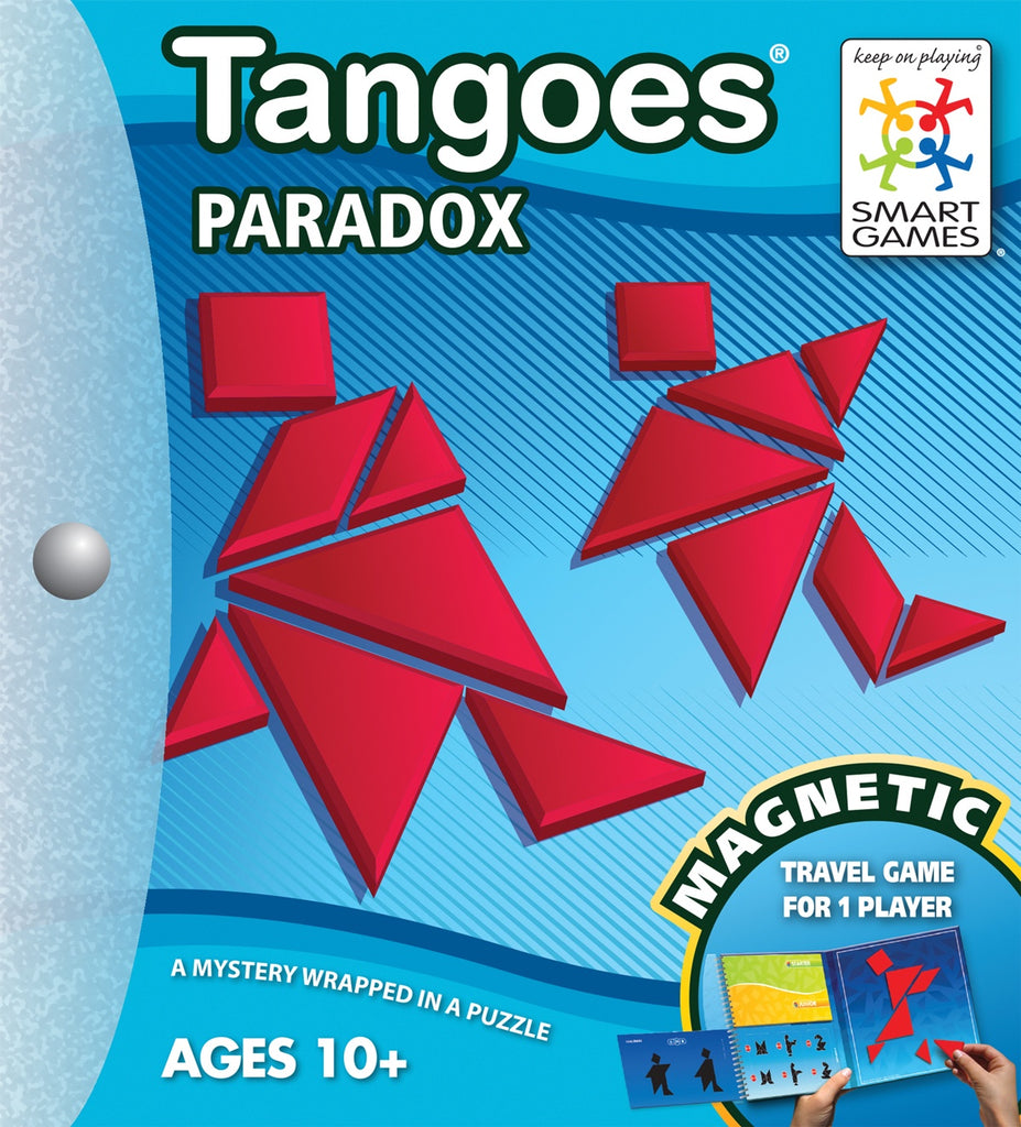 Smart Game | Tangoes Paradox- Magnetic Game | Single Player