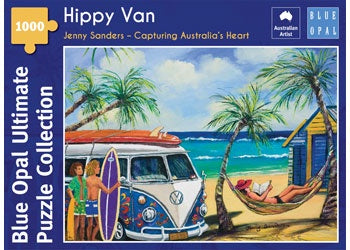 Blue Opal | 1000 pc | Jenny Sanders | Capturing Australia's Hearts | Hippy Van