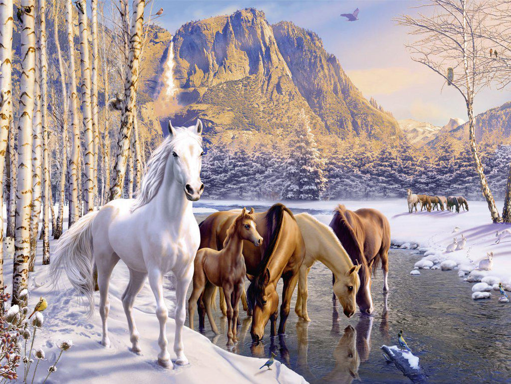 Ravensburger | 200pc | 126903 | Winter Horses