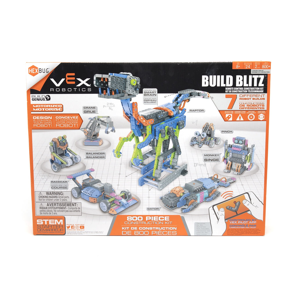 HEXBUG | VEX | Build Blitz Remote Control Construction Kit