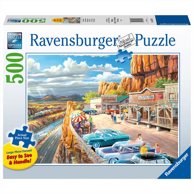 Ravensburger | 500pc | Large Format | 164417 Scenic Overlook