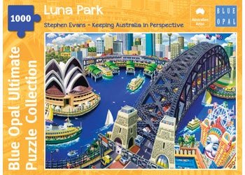 Blue Opal | 1000 pc | Stephen Evans | Luna Park