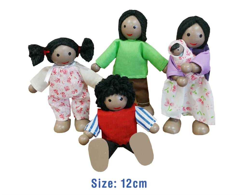 Fun Factory | 5 pc Wooden Doll Family