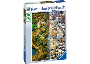 Ravensburger | 1500pc | Divided Town 162543