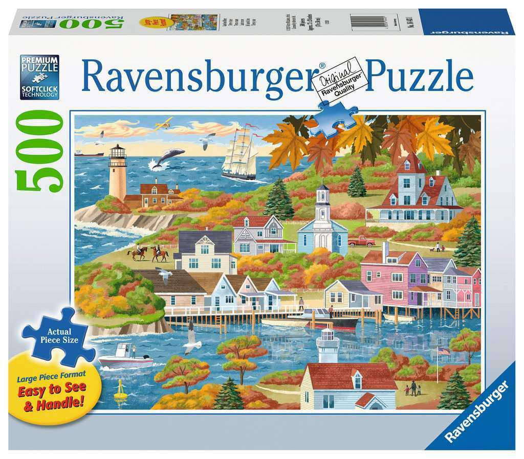 Ravensburger | 500pc | Large Format | 164431 Land and Sea