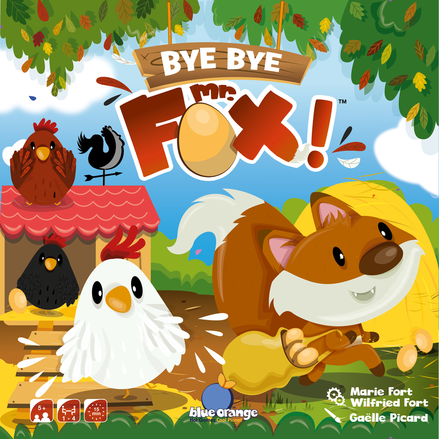 Blue Orange | Bye Bye Mr Fox