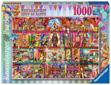 Ravensburger | 1000pc |152544 The Greatest Show On Earth