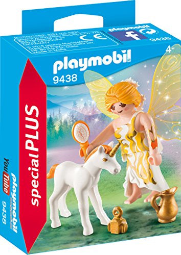 Playmobil | Special Plus | 9438 Sun Fairy with Unicorn Foal