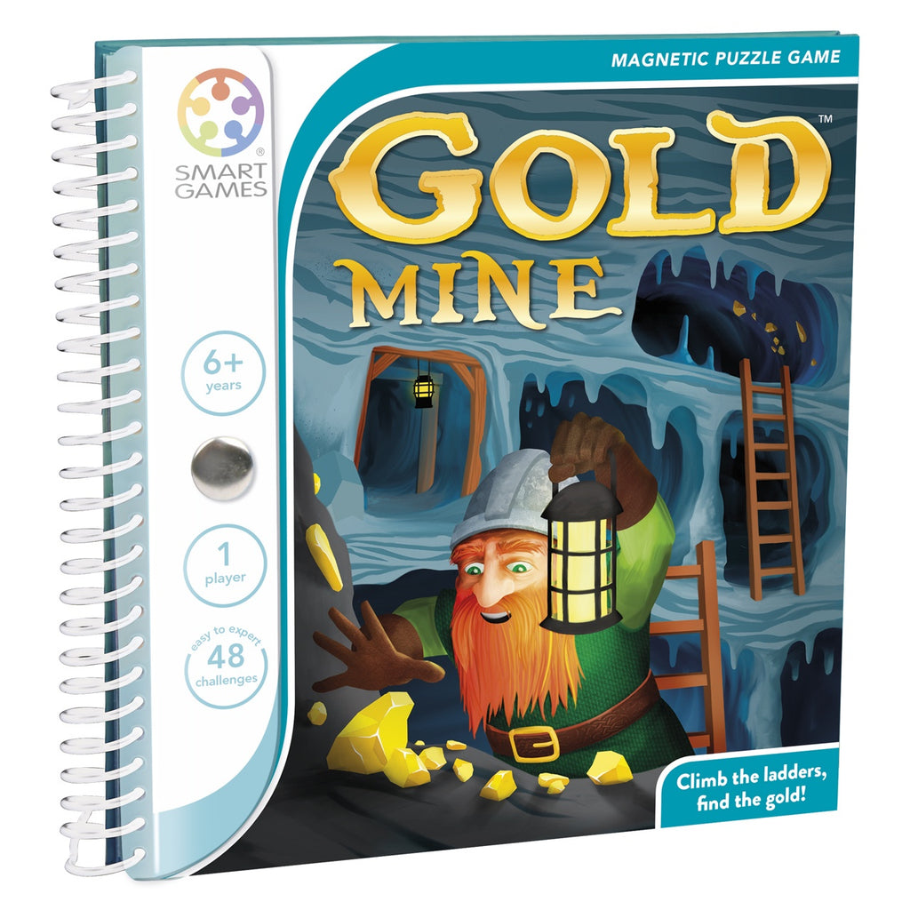 Smart Games | Gold Mine-magnetic | Single Player