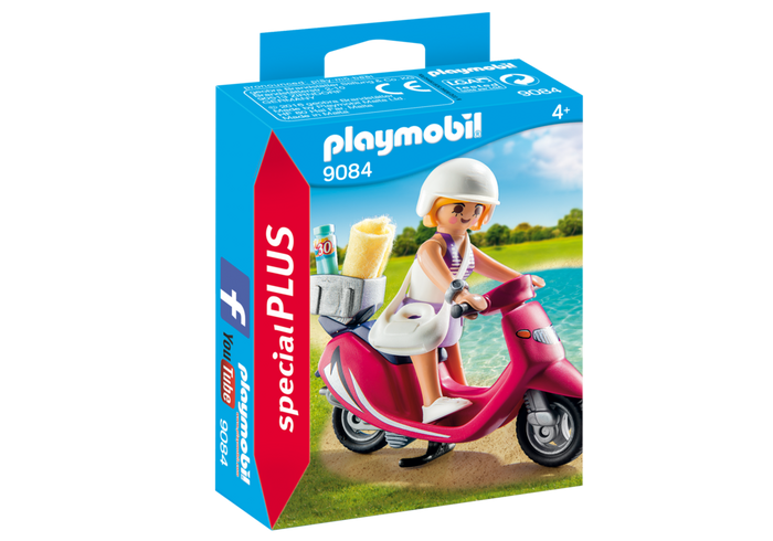 Playmobil | Special Plus | 9084 Girl on Scooter