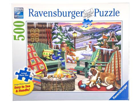 Ravensburger | 500pc | Large Format | 164424 Apres All Day