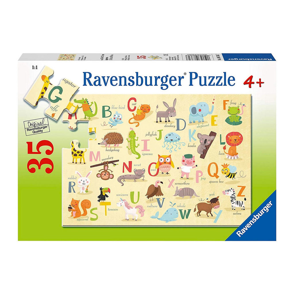 Ravensburger | 35pc | 087617 A-Z Animals