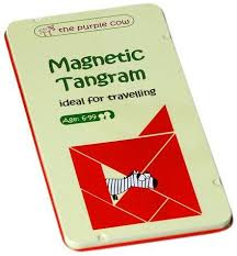magnetic travel tangram puzzle