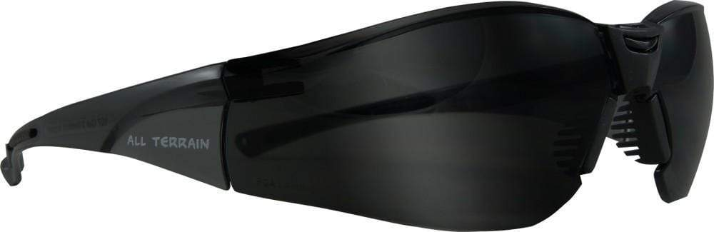 ASW PPE All Terrain Safety Glasses - Smoke Lens 107SGSD  x12