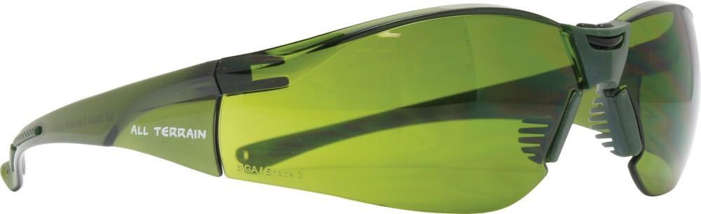 ASW PPE All Terrain Safety Glasses - Welding Shade 3 Lens 107W3