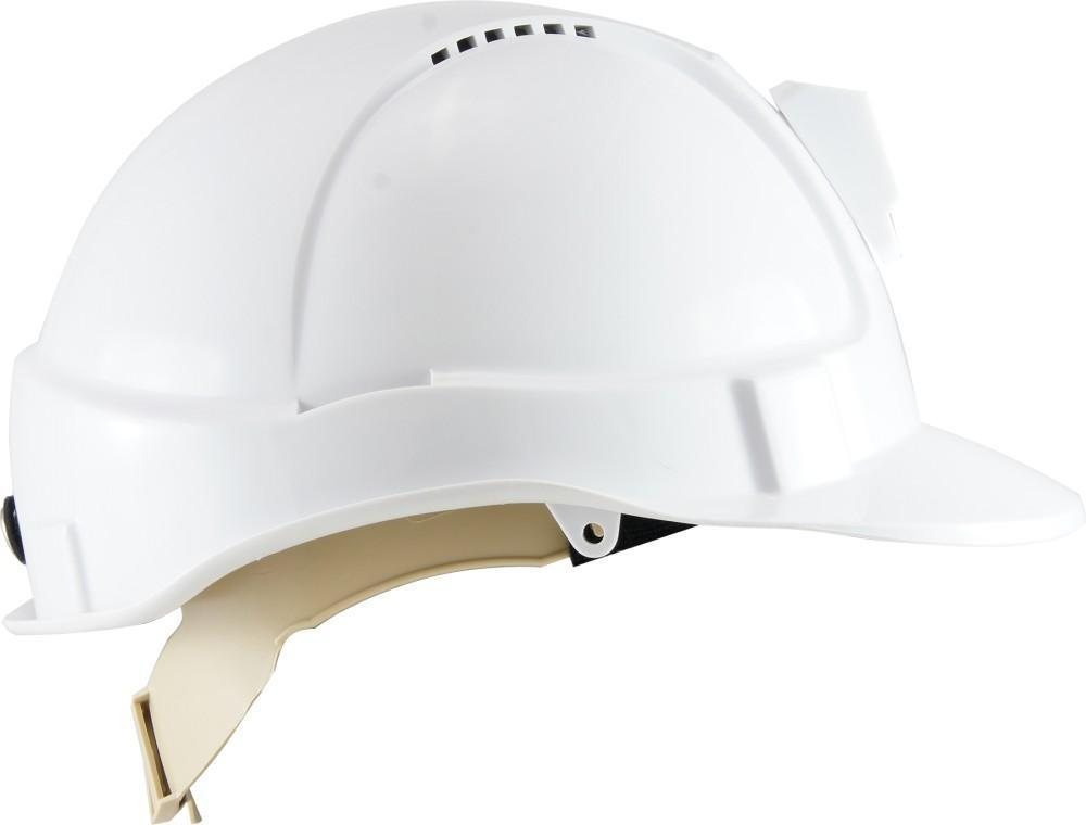 ASW PPE HammerHead Hard Hat - White (Vented, Cap Lamp Bracket) HM1ATWL