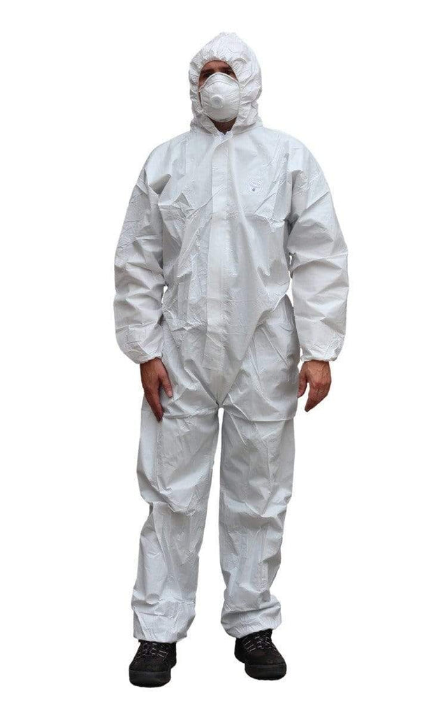 ASW PPE Microporous Coverall - White  Type 5/6 (Carton of 25) DPECB