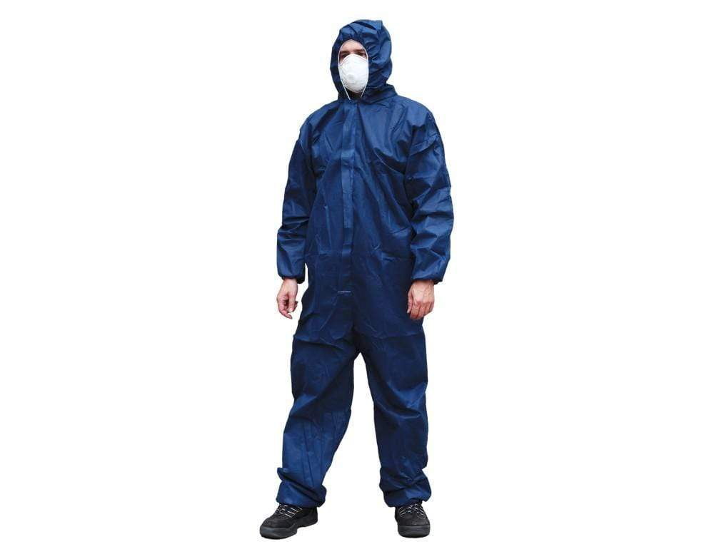 ASW PPE MS Coverall - Blue Extra Large Type 5/6 (Carton of 50) DCSMSBLXL