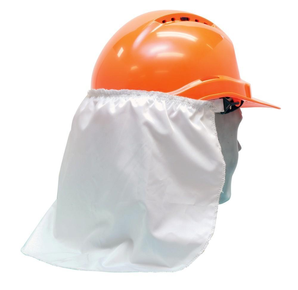 ASW PPE Neck Flap - White HMNFW