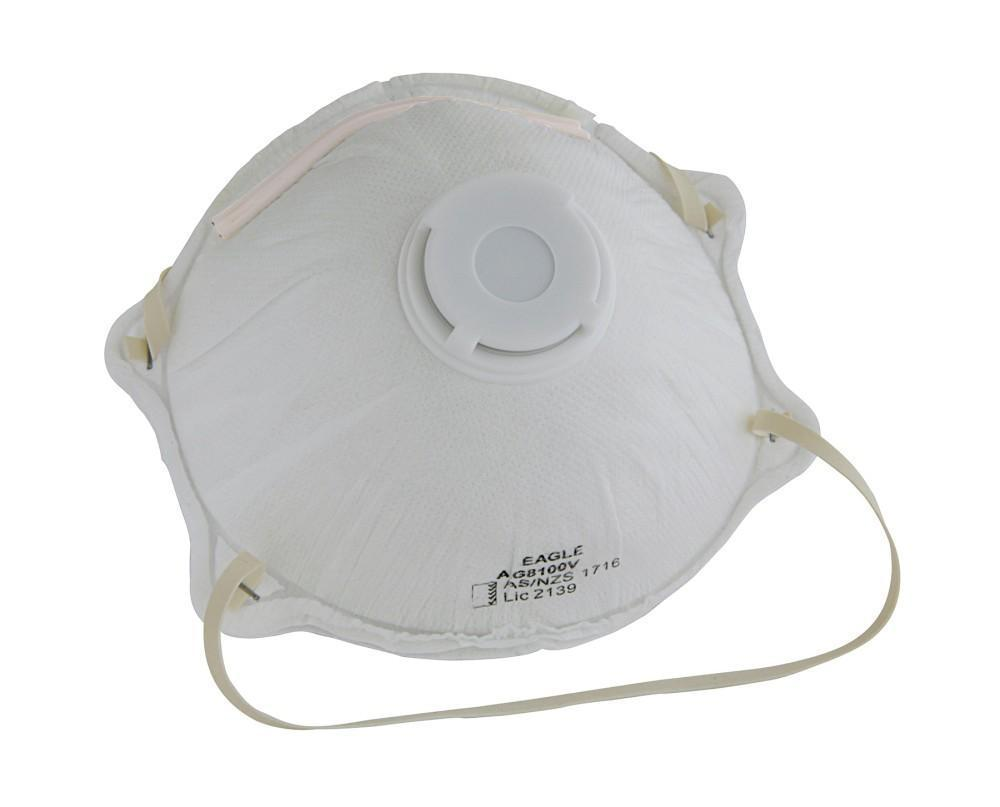 ASW PPE P2 Dust Mask with Valve (Box of 10) P2V