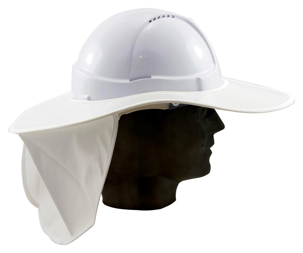 ASW PPE Sun Brim with Neck Flap (Plastic) SB1367