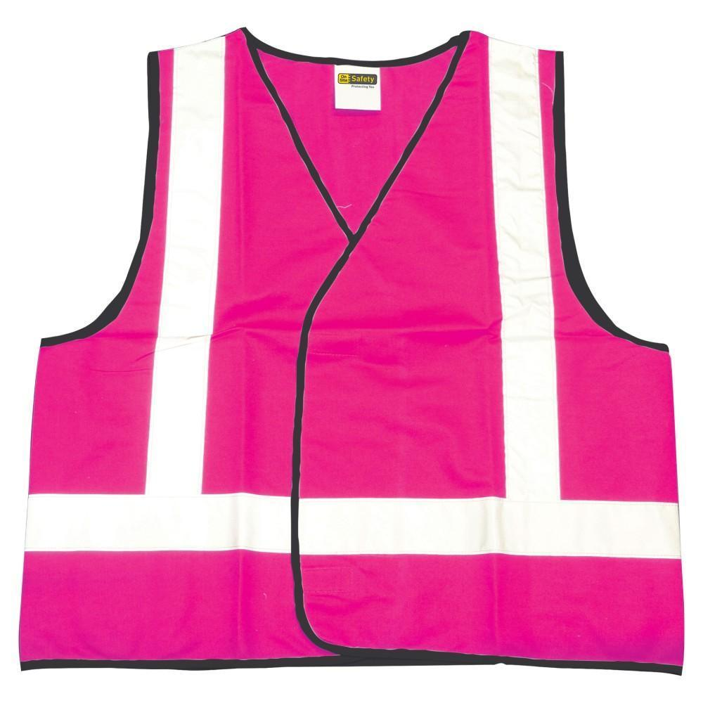 ASW Work Wear Pink Vest - Night Only V006PH