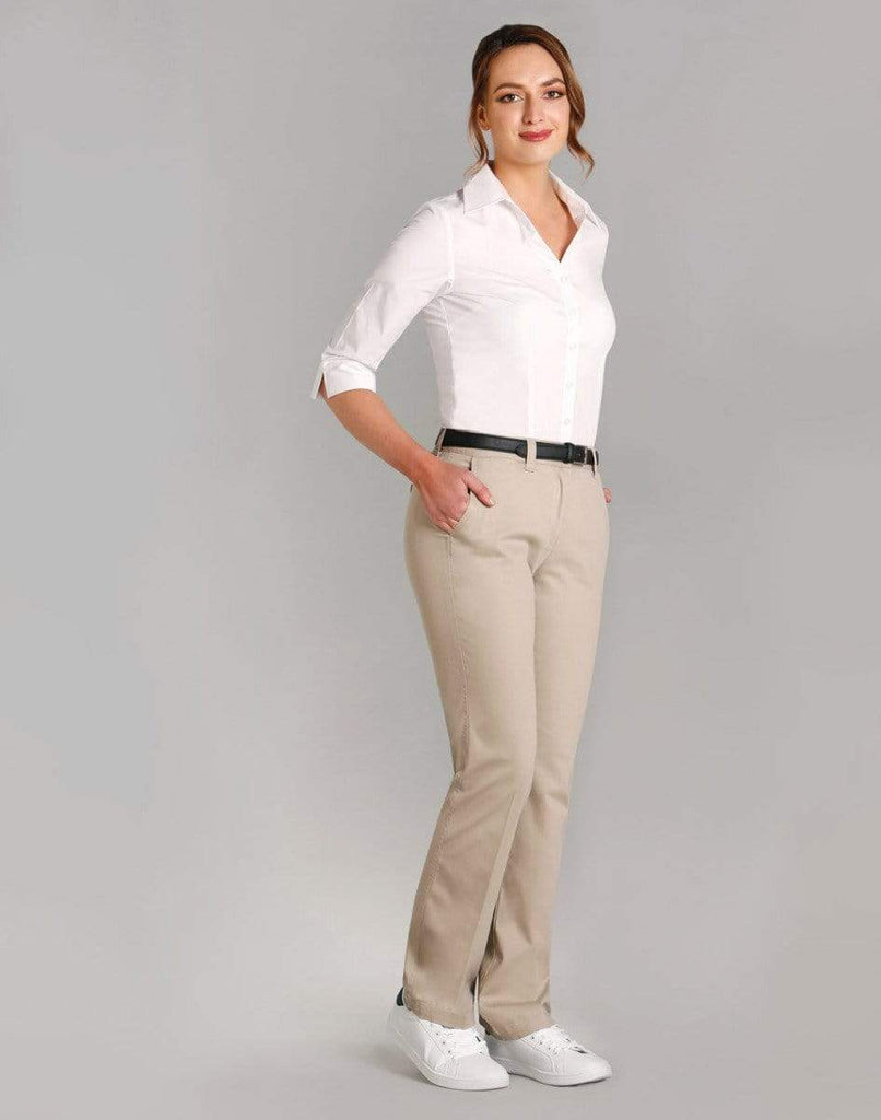 Benchmark Corporate Wear BENCHMARK Women's Chino Pants M9460