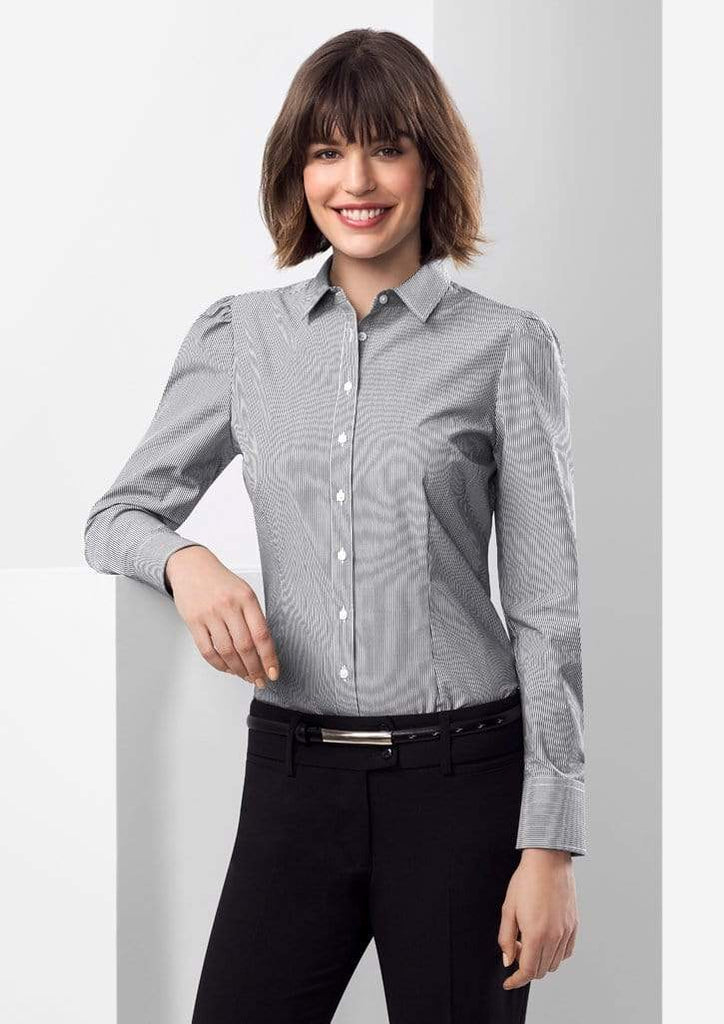 Biz Collection Corporate Wear Biz Collection Women's Euro Long Sleeve Shirt S812LL