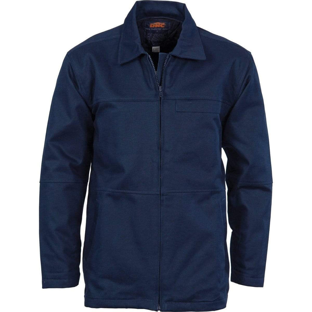 DNC Workwear Corporate Wear Navy / XS DNC WORKWEAR Protector Cotton Jacket 3606