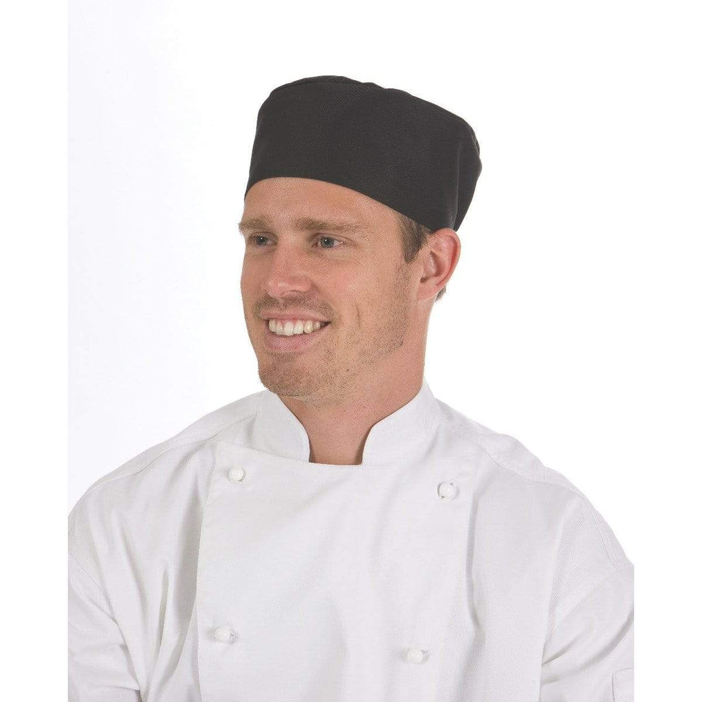 DNC Workwear Hospitality & Chefwear Navy / One Size DNC WORKWEAR Flat Top Chef Hat 1602