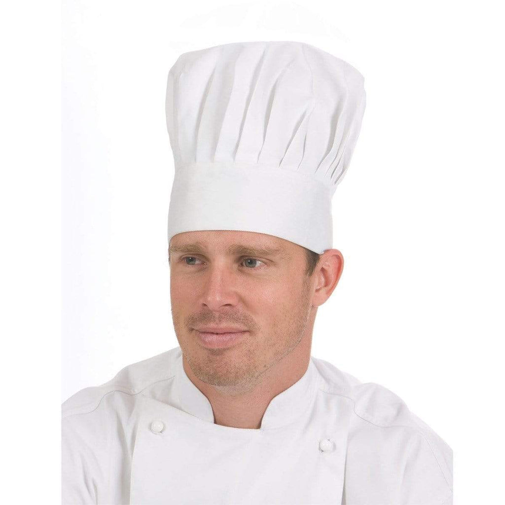 DNC Workwear Hospitality & Chefwear White / One Size DNC WORKWEAR Traditional Chef Hat 1601