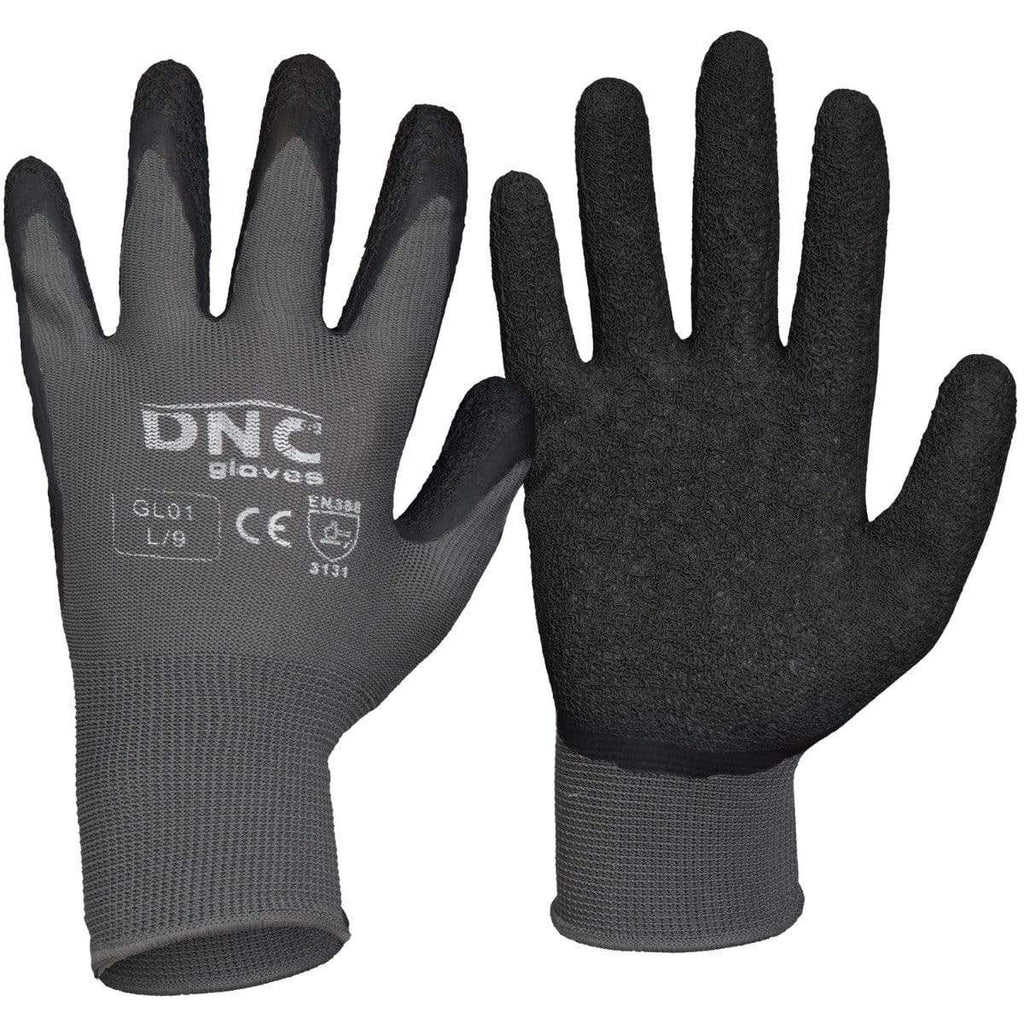 DNC Workwear PPE Black/Grey / S/7 DNC Latex- Basic GL01