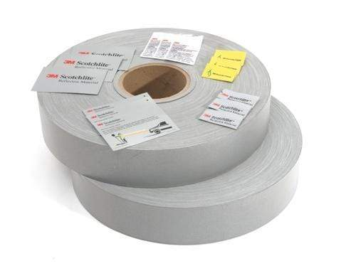 DNC Workwear PPE Silver / 50mm X 100m DNC WORKWEAR Generic Reflective Tape 6011