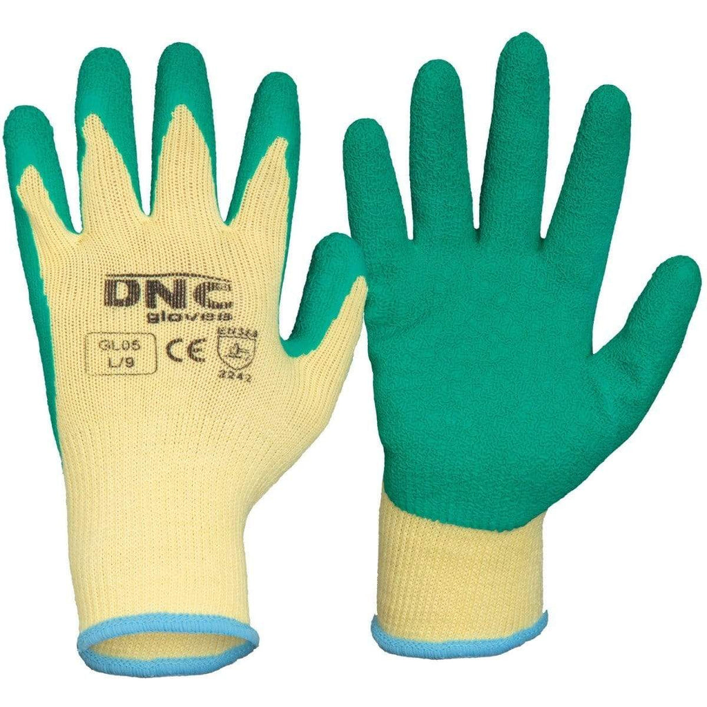 DNC Workwear PPE Green/Natural / S/7 DNC WORKWEAR Latex- Premium GL05