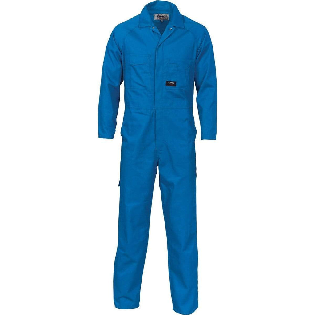 DNC Workwear Work Wear DNC WORKWEAR 200 GSM Polyester Cotton Coverall 3102