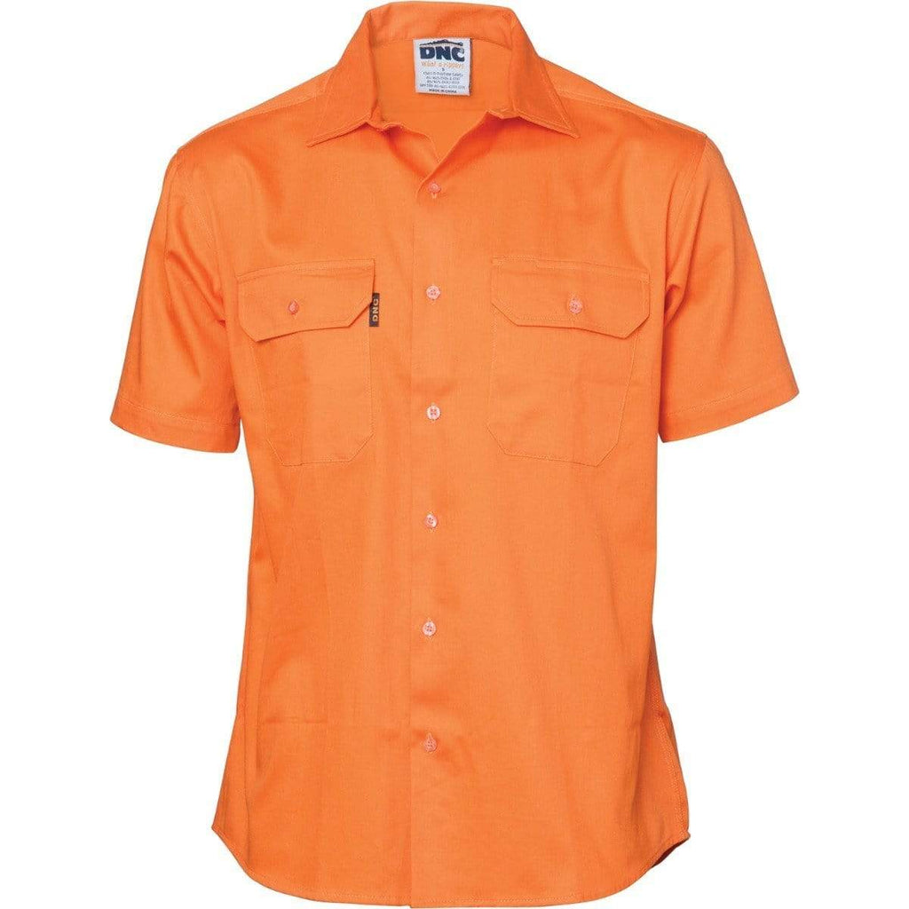 DNC Workwear Work Wear DNC WORKWEAR Cool-Breeze Short Sleeve Work Shirt 3207