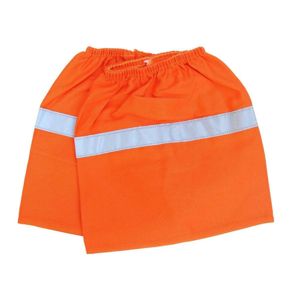DNC Workwear Work Wear Orange / H: 21cm X W: 20cm DNC WORKWEAR Cotton Boot Covers with Reflective Tape 6002