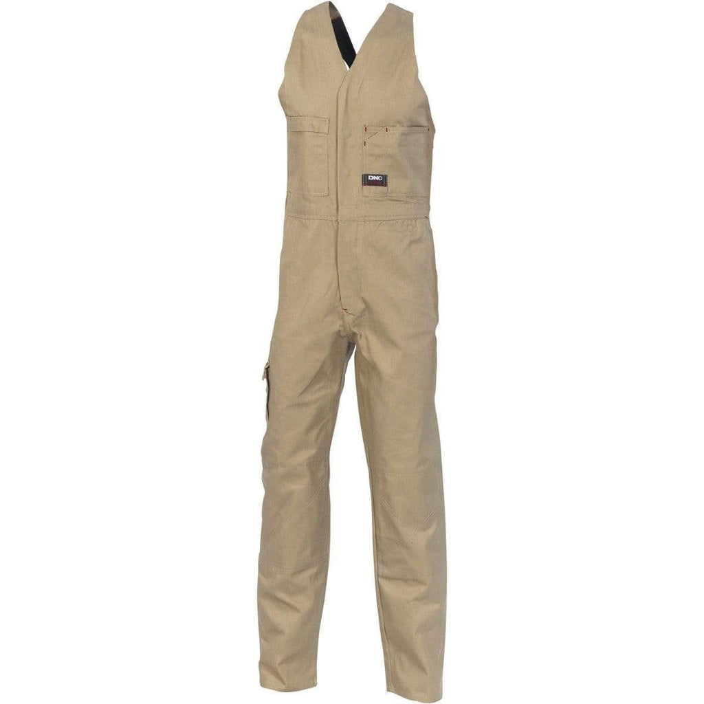 DNC Workwear Work Wear DNC WORKWEAR Cotton Drill Action Back Overall 3121