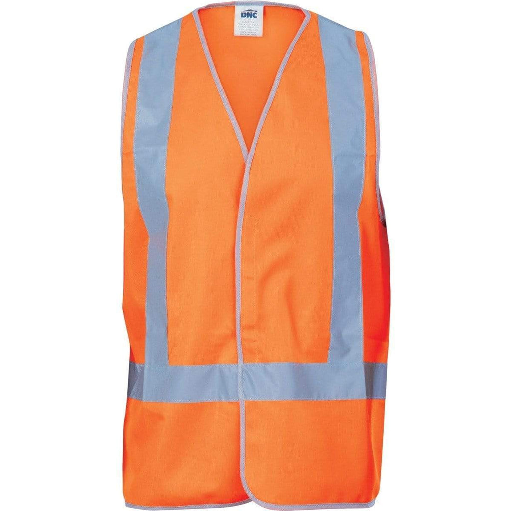 DNC Workwear Work Wear DNC WORKWEAR Day/Night Cross Back Safety Vest 3805