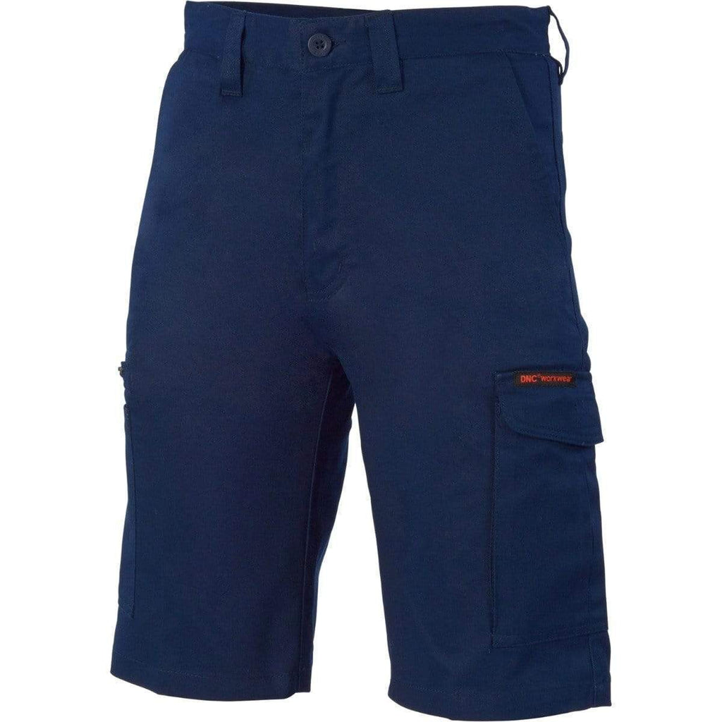 DNC Workwear Work Wear DNC WORKWEAR Digga Cool-Breeze Cotton Cargo Shorts 3351