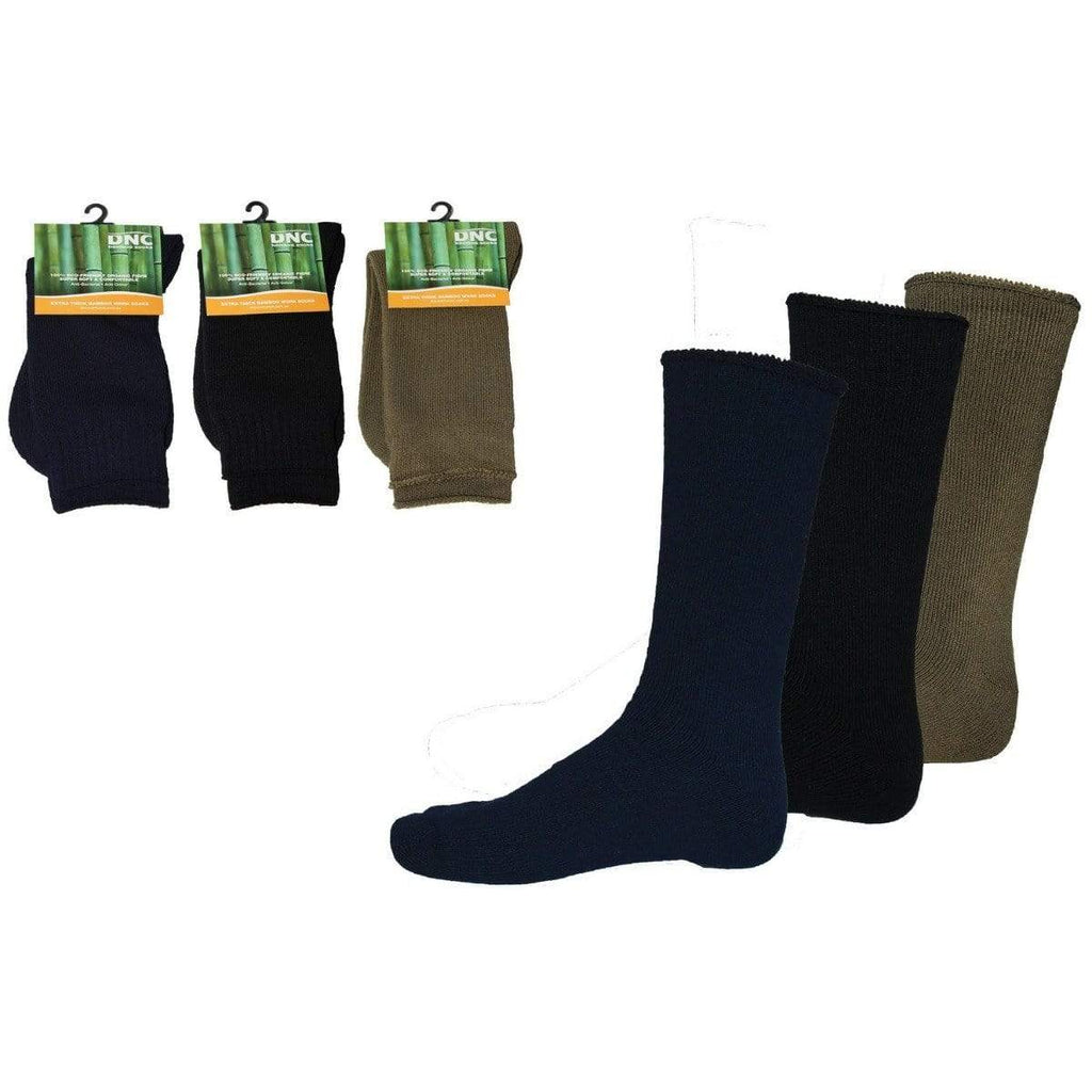 DNC Workwear Work Wear DNC WORKWEAR Extra Thick Bamboo Socks S108