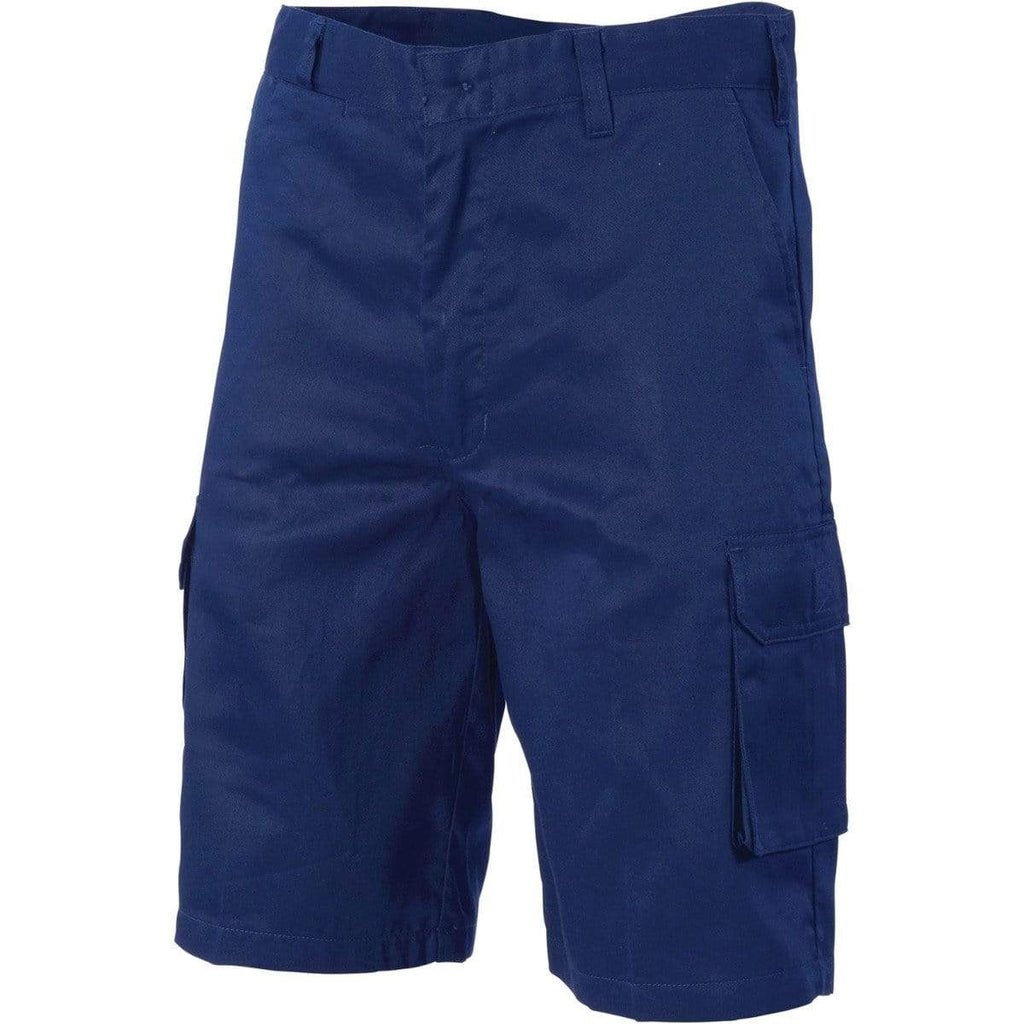 DNC Workwear Work Wear DNC WORKWEAR Lightweight Cool-Breeze Cotton Cargo Shorts 3304