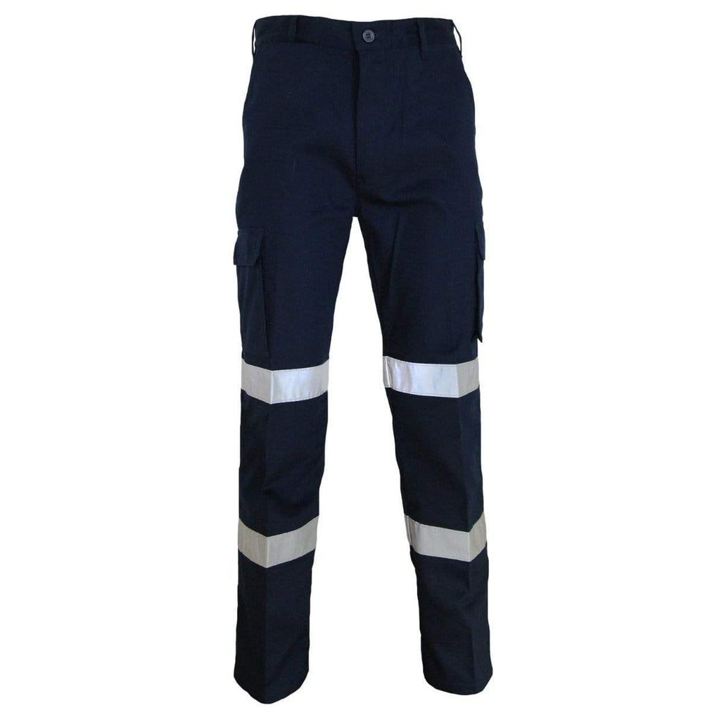 DNC Workwear Work Wear Navy / 72R DNC WORKWEAR Lightweight CTN Bio-Motion Taped Pants 3362
