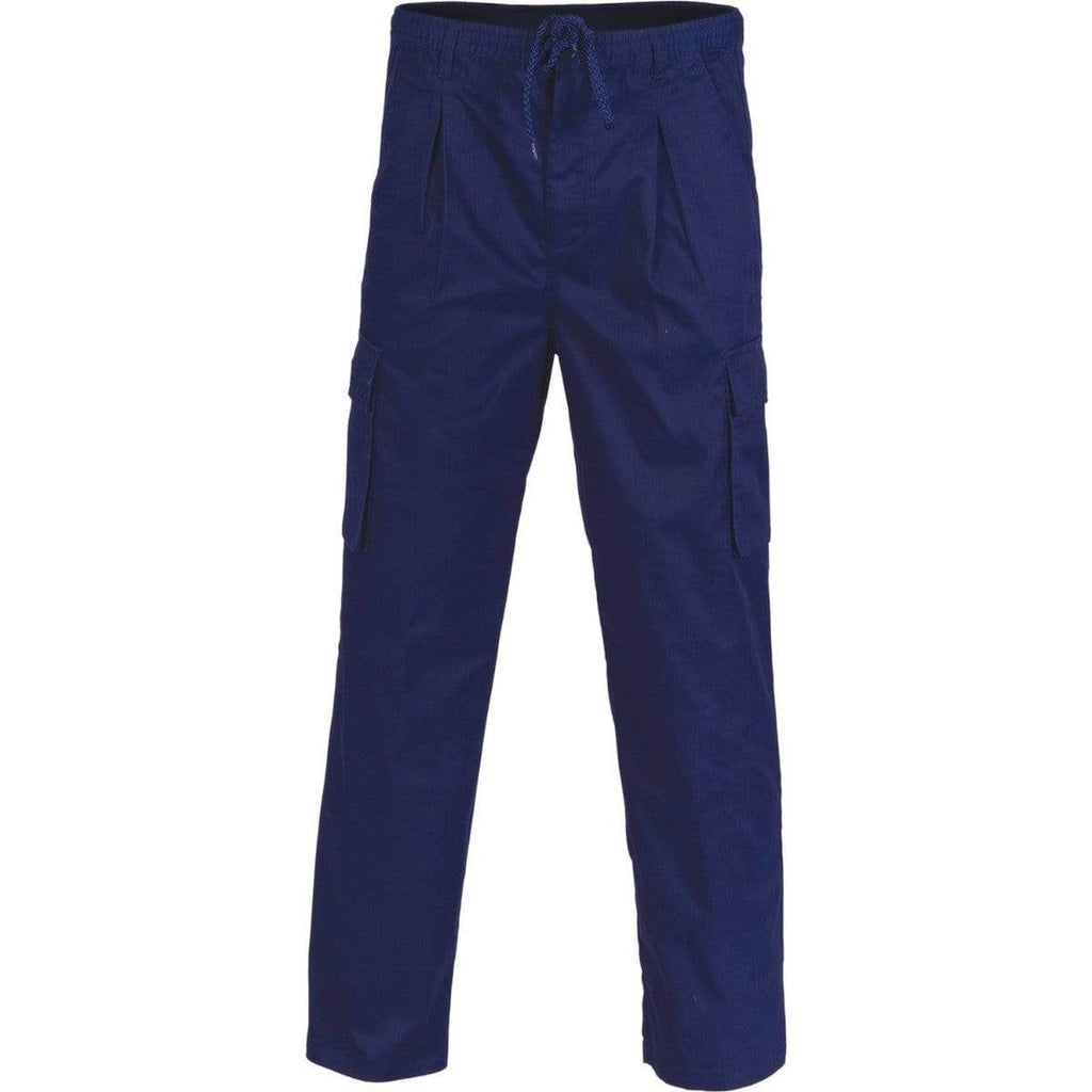 DNC Workwear Work Wear Navy / XS DNC WORKWEAR Polyester Cotton 3-in-1 Cargo Pants 1504